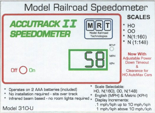 Accutrack Speedometer